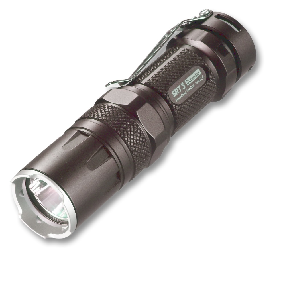 NITECORE SRT3 CREE XM-L2 T6 Tactical LED Flashlight Waterproof Outdoor Camping Hunting Portable Torch Grey/Black Free Shipping nitecore p12 tactical flashlight cree xm l2 u2 led 1000 lumens 4 mode 18650 outdoor camping pocket edc portable torch