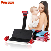 Foldable Child Safety Seat Increased Pad Portable Car Booster Seat Belt Converter Adjustable for 3 12yrs Kids