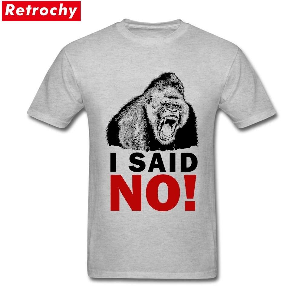 Planet Of The Apes King Tee Custom T Shirts I Said No Boys Bulk