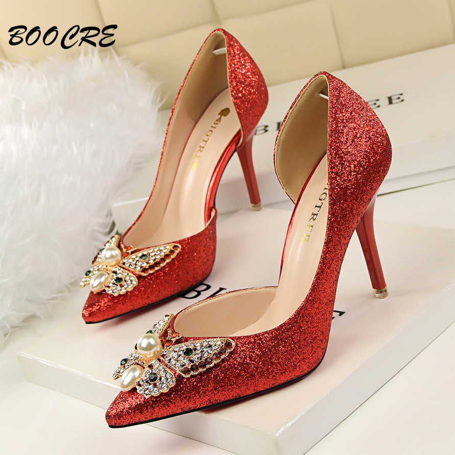 line Buy Wholesale diamond shoes for sale from China diamond
