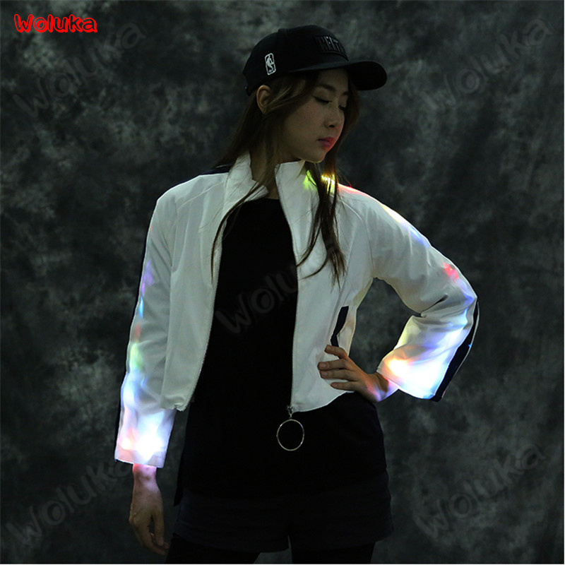 Camera & Photo Accessories Photo Studio Accessories Supply Led Luminescent Casual Jacket Loose Breathable Casual Couple Jumping Dick Party Performance Costume Luminescent Suit Cd15 T02 Hot Sale 50-70% OFF