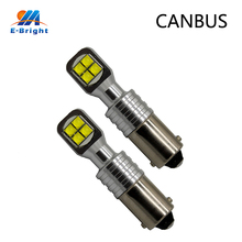 4pcs BA9S 2525 8SMD Canbus Luggage 360 degree Compartment led Turn signal lights White Door lights DC9-30V 1000LM White 8000K band switching signal converter a knife 12 files 360 degree turn