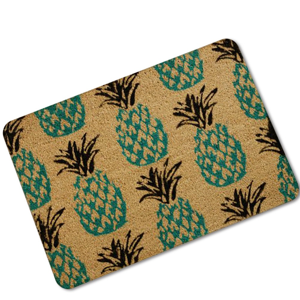 Aliexpress.com : Buy Fruits Watermelon Pineapple Rubber Doormat Printing  Kitchen Bath Rugs Living Room Bedroom Mat Home Decorate Outdoor Fur Carpet  From ...