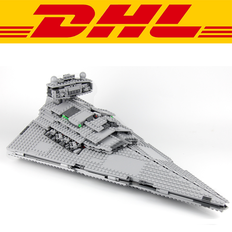 2018 1359Pcs Star Wars Imperial Star Destroyer Model Building Kits Blocks Bricks Toy For Children Figures Compatible With 75055 2017 new 3803pcs star wars death star model building kits figures blocks bricks educational children toy gift compatible 10188