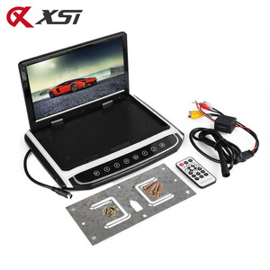 Image 5 - Xst 17.3 インチ車のルーフマウントモニターtft液晶プレーヤーhd 1080pビデオusb fm hdmi sdタッチボタン天井MP5 プレーヤー