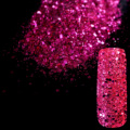 Bright Purple Nail Art Design DIY Glitter Deffierent Size Manicure 3D Powder Pentagon Sequins Nail Supplies Decoration 268