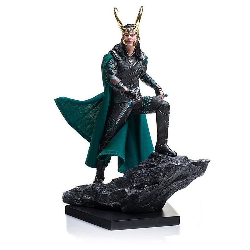 Anime Avengers Loki in Movie Thor Super Hero 25cm Action Figure Toys