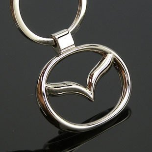 Free shipping! 3D badge/logo car keyring/keychain/keychains/key chain with gift box for 20 PCS  NO 24