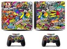Bombing 262 PS4 Pro Skin Sticker Vinyl Decal