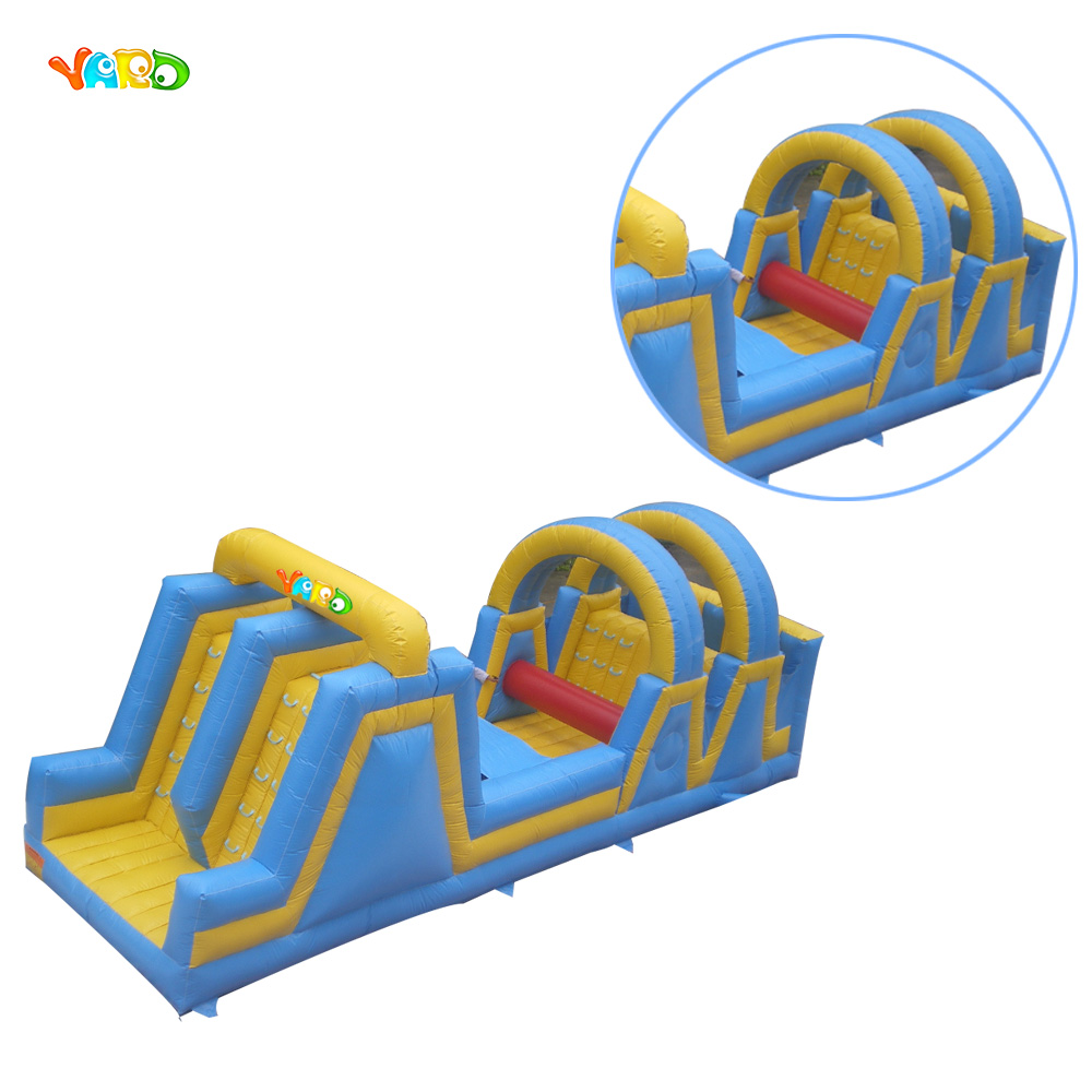 Hot Sale Inflatable Paintball Obstacle Course for Kids hot sale kids funny party inflatable bounce house juegos inflables cama elastic pula pula inflatable slide for middle east