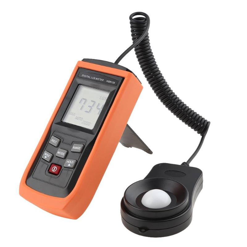 LM8133 Digital Light Meter Illuminometer 200000 LUX Meters Lux/FC Meter Luminometer Sunshine Photometer bside elm02 professional digital light meter lux fc light meter