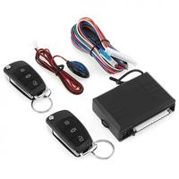 8.8 x 6 x 2.1cm 6V 12V Car Alarm System Vehicle Keyless Entry System with Remote Control & Door Lock Automatically for Toyota