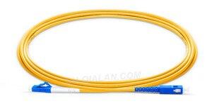 Image 3 - Fibra Óptica Patchcord 1m 2m 3m 10pcs Cabo Óptico SC para LC UPC Simplex 2.0 milímetros PVC Single Mode UPC FTTH Fiber Patch Cable Jumper