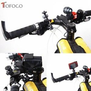 Image 5 - Tofoco bicicleta parafuso montar titular guiador clipe de montagem da bicicleta suporte para gopro hero 3/hero 2/hd herói câmera alta qualidade