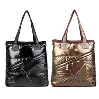 Fashion Women Ladies Casual Winter Space Cotton-Padded Handbag Shoulder Bag 88