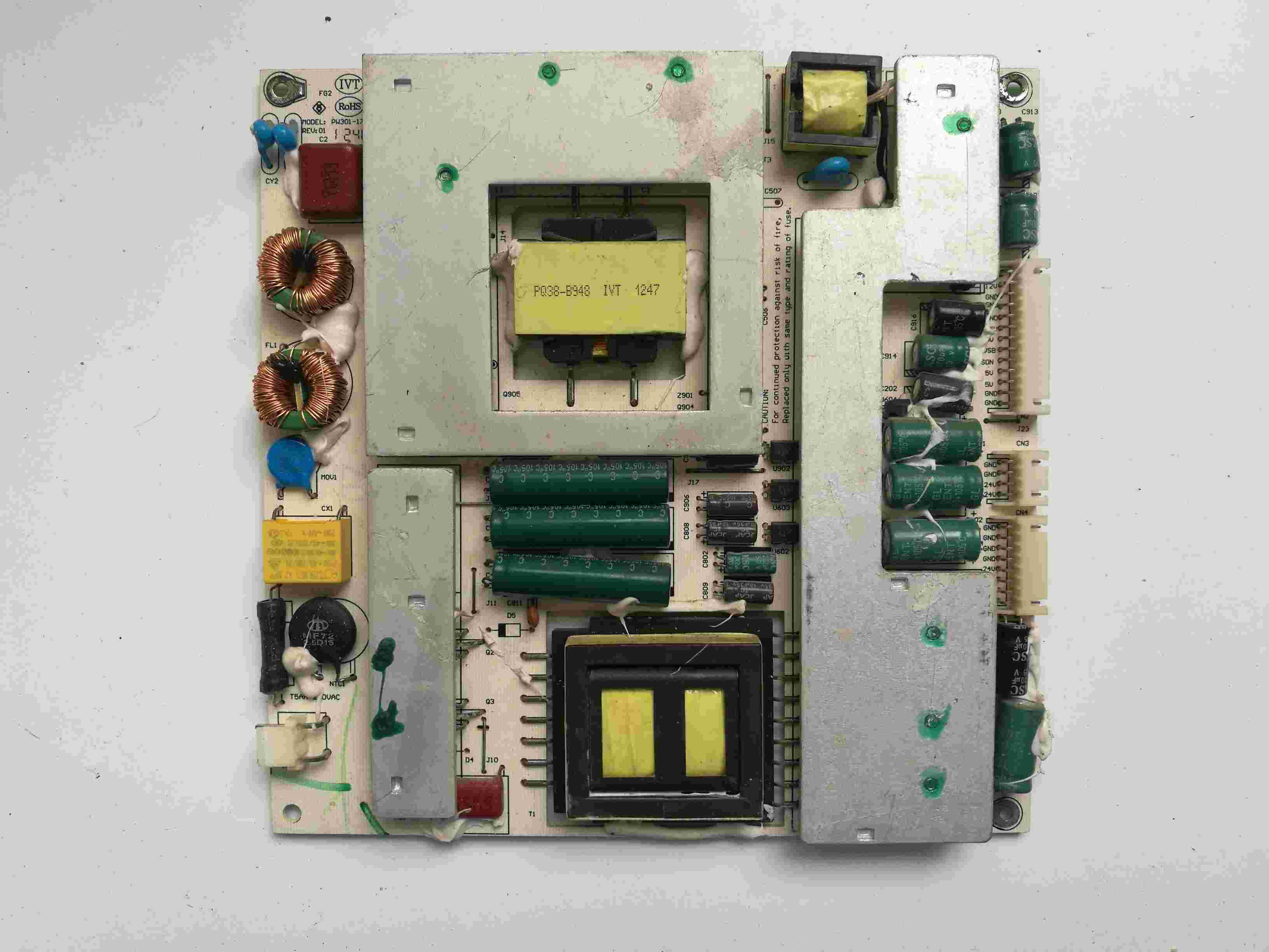 Main Board Power Board Circuit Logic Board Constant Current Board Led 50x1200af Motherboard 35019688 With 542yt Screen Circuits
