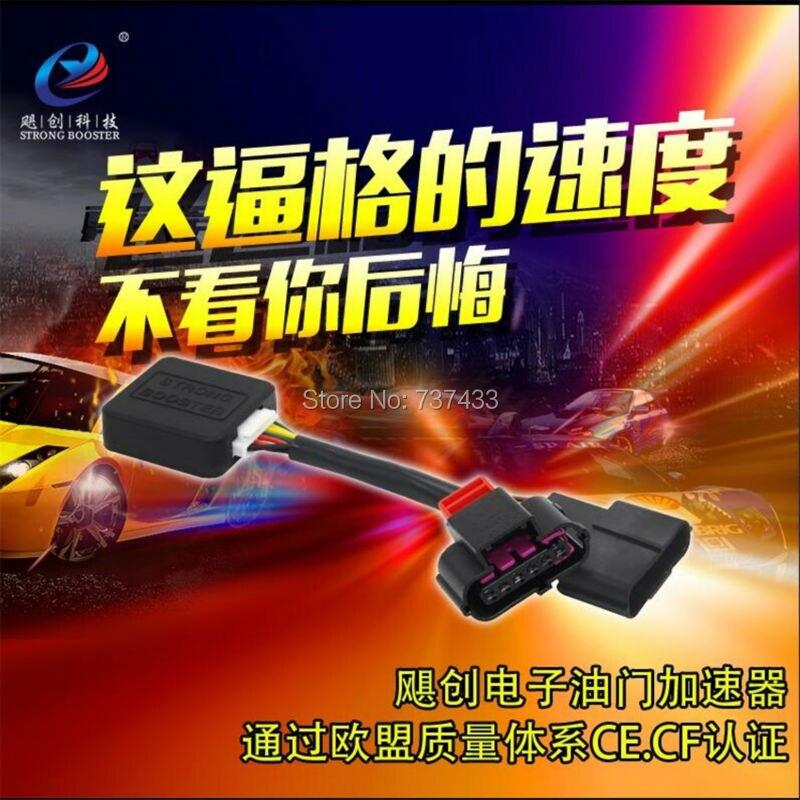 Спортивный режим POTENT BOOSTER Электронное маневровое устройство педаль акселератора коробка для Hyundai Verna Elantra i30 Kia Soul K2 и т. д.