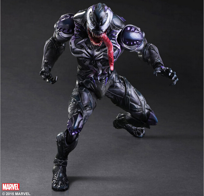 Spider Man Action Figure Venom Spride Collection Model Toys Play Arts Kai Action Figure Amazing Spiderman Play Arts Venom tobyfancy spider man action figure play arts kai collection model anime toys amazing spiderman play arts spider man