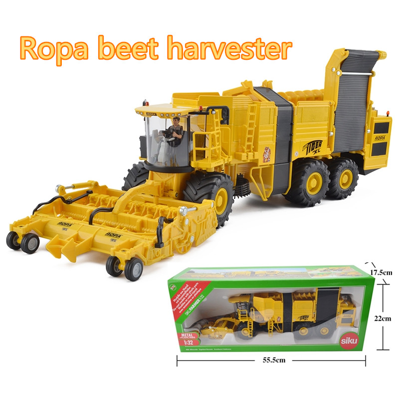 SIKU 4060/DieCast Metal Model/1:32 Scale/Ropa Beet harvester Truck/Educational Toy Car/Gift for Children/Collection alloy diecast model trucks transport 1 50 engineering car vehicle scale truck collection gift toy