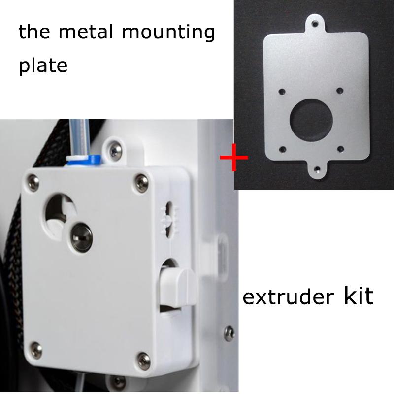 Prix pour Nouveau ensemble d'extrusion avec platine de fixation en métal pour Ultimaker 2 + Étendu extrudeuse suite kits d'alimentation livraison gratuite