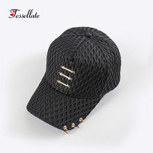 c08323feee1 dropshippingMen And Women Net Outdoor Holiday Sunshade Sun Hat Quick-dry  Ventilation Baseball caps for