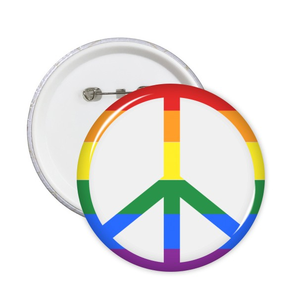 New Gay Pride Fashion Jewelry Lgbt Map Flag Shape Rainbow Homosexual