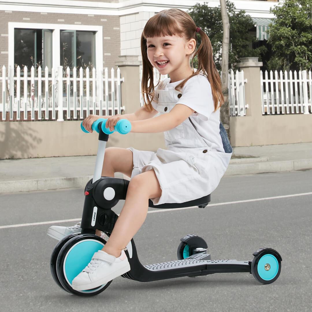 Bicicleta de equilibrio para niños sin bicicleta de Pedal bebé Scooter 1 3 años de edad niño pequeño - 5