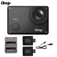 Gitup Git2 Novatek 96660 1080P WiFi 2K Outdoor Sports Action Camera Extra 1pcs 950mAh Battery Battery