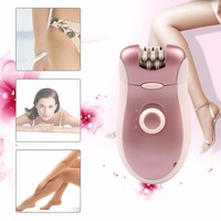 2 In 1 Rechargeable Electric Hair Removal Female Epilator Electric Shaver Tweezers For Body Bikini Smooth