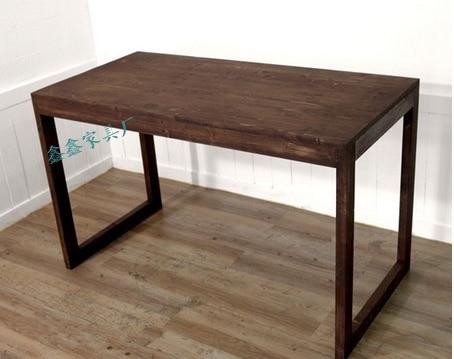 semplice ed elegante su misura in legno massello tavolino ikea ...