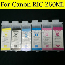 Wide format for canon BC-1421 BC1421 use for Canon W6400 W6200 W7250 with compatible chip refill ink cartridge 6 color ink cartridge for canon bci 1431 tinta use for canon w6400 w6200 w7250 7250 with chip