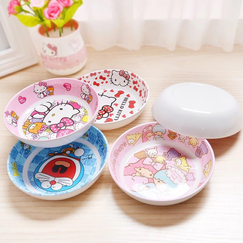 My Melody// Hello Kitty Melamine Rice,Salad Bowl or Bowl of soup For Kids