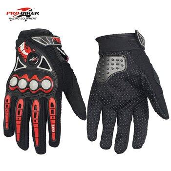 Guantes para motociclista profesional para hombre, guantes para Moto de carreras