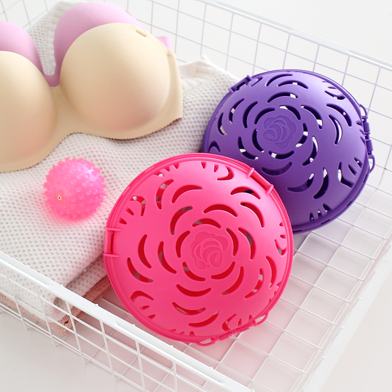 Creative Washing Ball For Bra Useful Bubble Bra Double Saver Washer Bra Laundry Wash 1pc For House Keeping Clothes Cleaning Tool