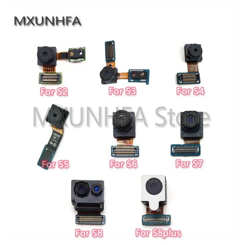 Small Front Camera Light Proximity Sensor Flex Cable For Samsung Galaxy S2 S3 S4 S5 S6 S7 Edge S8 S9 Plus G920f G925f G930F G935