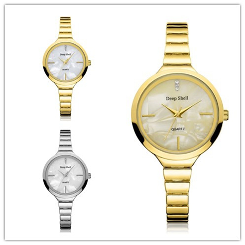 Luxury Brand Quartz Wrist Watch Women Stainless Steel Bracelet Wristwatch Elegant Ladies Golden Silver Watches Dot