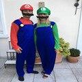 Halloween Super Mario Luigi Irmãos Mary Plumagem Partido Cosplay Adulto Vestuário dos homens Unisex das Crianças