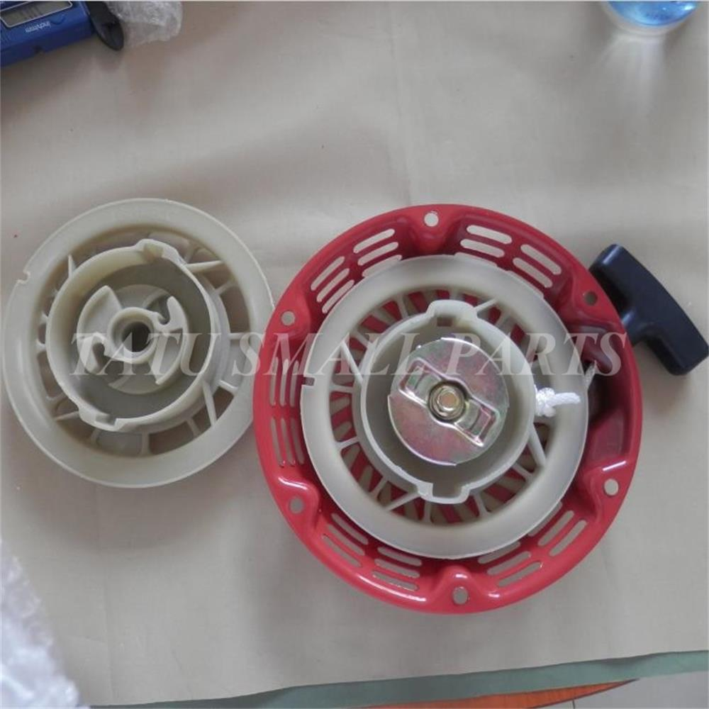 2 X ONLY PLASTIC RECOIL STARTER PULLEY FOR HONDA GX120 GX160 GX200 168F BRUSHCUTTER STRIMMER PULL START ASSEMBLY PARTS