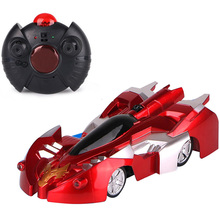 Remote Control Wall Race Rc Car Climbing Led Lights 360 Rotating Stunt Toys Antigravity Machine Christmas Gift Kid