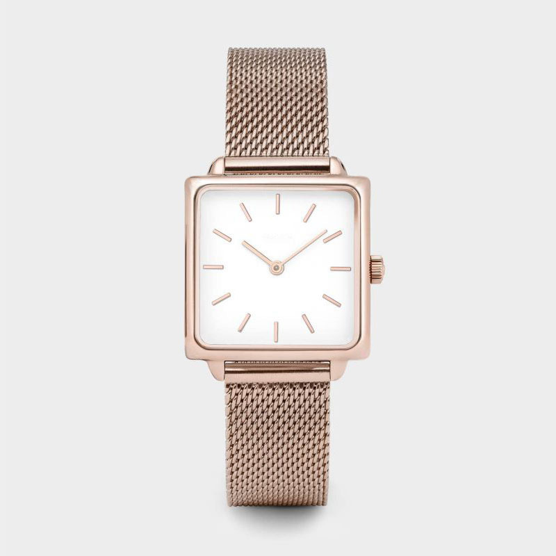 Luxury Brand Women Watches Fashion Female Dress Watch Square Rose Gold Bracelet Watch Reloj Mujer Zegarek Damski Montre Femme