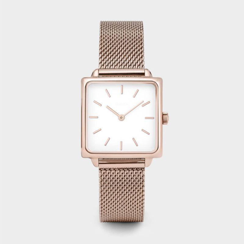 Luxury Brand Women Watches Fashion Female Dress Watch Square Rose Gold Bracelet Watch Reloj Mujer Zegarek Damski Montre Femme