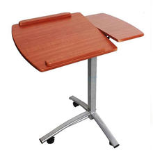 1PC Multi-functional Lifting Computer Desk Brown Adjustable Household Laptop Table New Brown Wood(China)