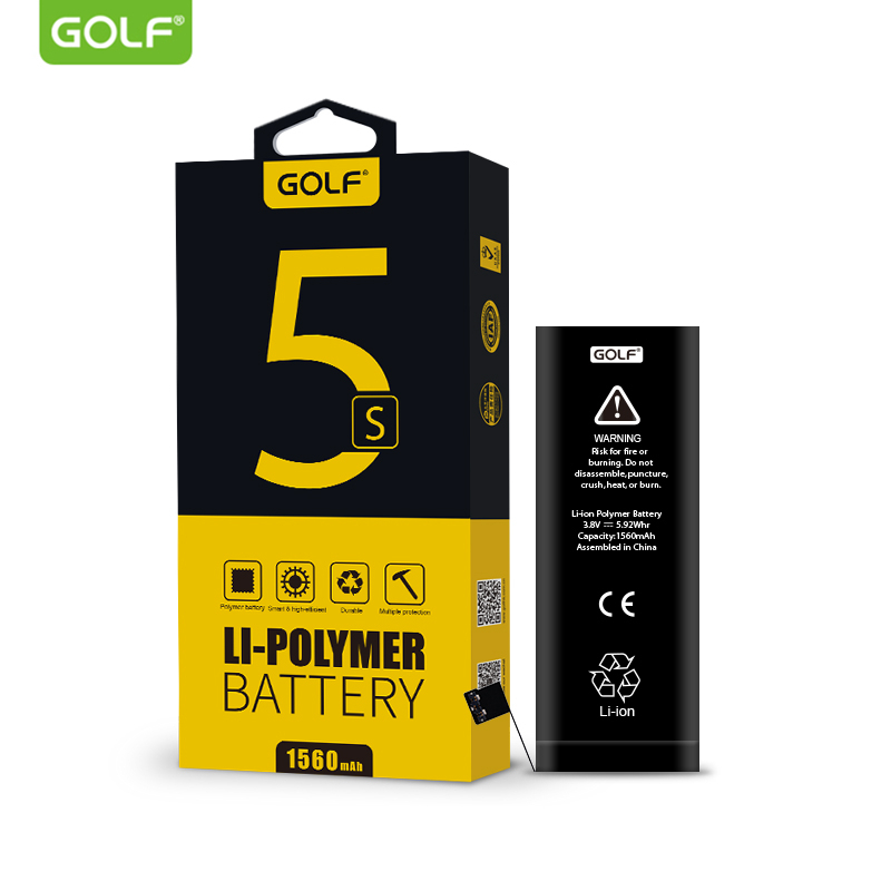 Golf Battery For Machine-Tools IPhone 5s Original 5C Ce 5S/5C 1560mah Replacement-Batteries