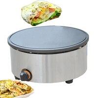 Nieuwe Dektop commerciële gas pannenkoek fruit machine enkele kop bankjes oven pannenkoek machine bakplaat oven gas machine 1 pc
