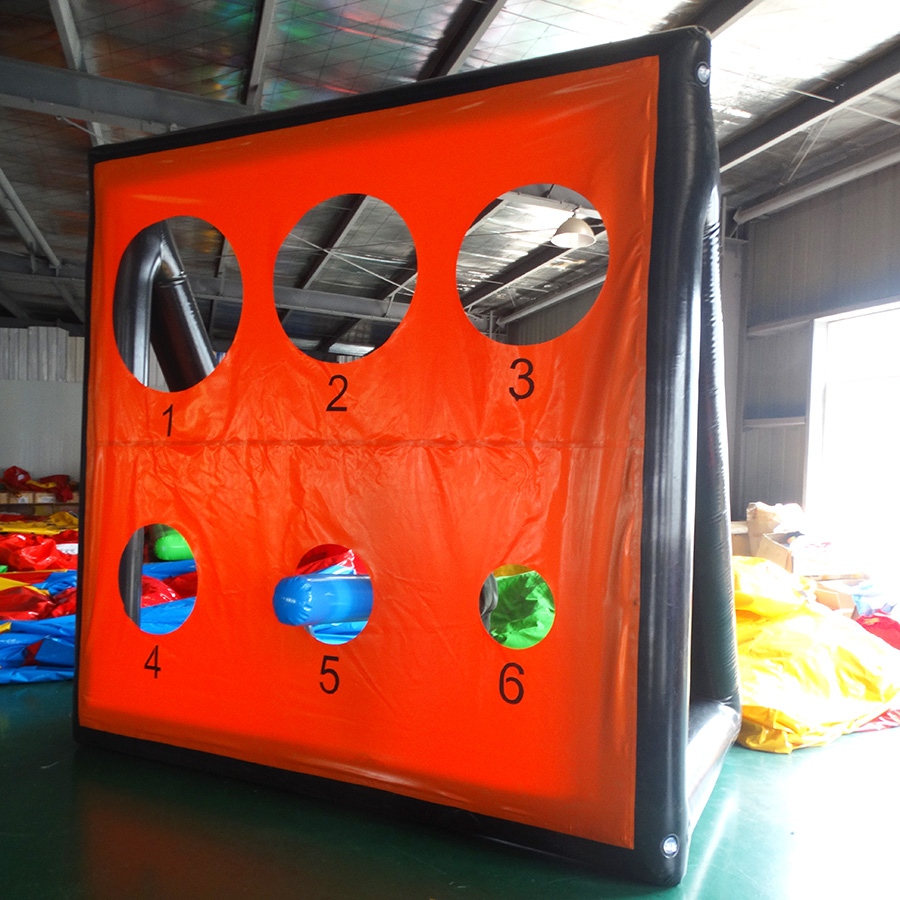 Inflatable football door projection toy fun sports game darts projection inflatable model