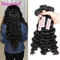 Перуанский Девы Волос Класс 9А Необработанные Девственные Волосы Свободная Волна 4 Пучки Mesariel Продукты Волос Перуанский Человеческие Волосы Свободная Волна