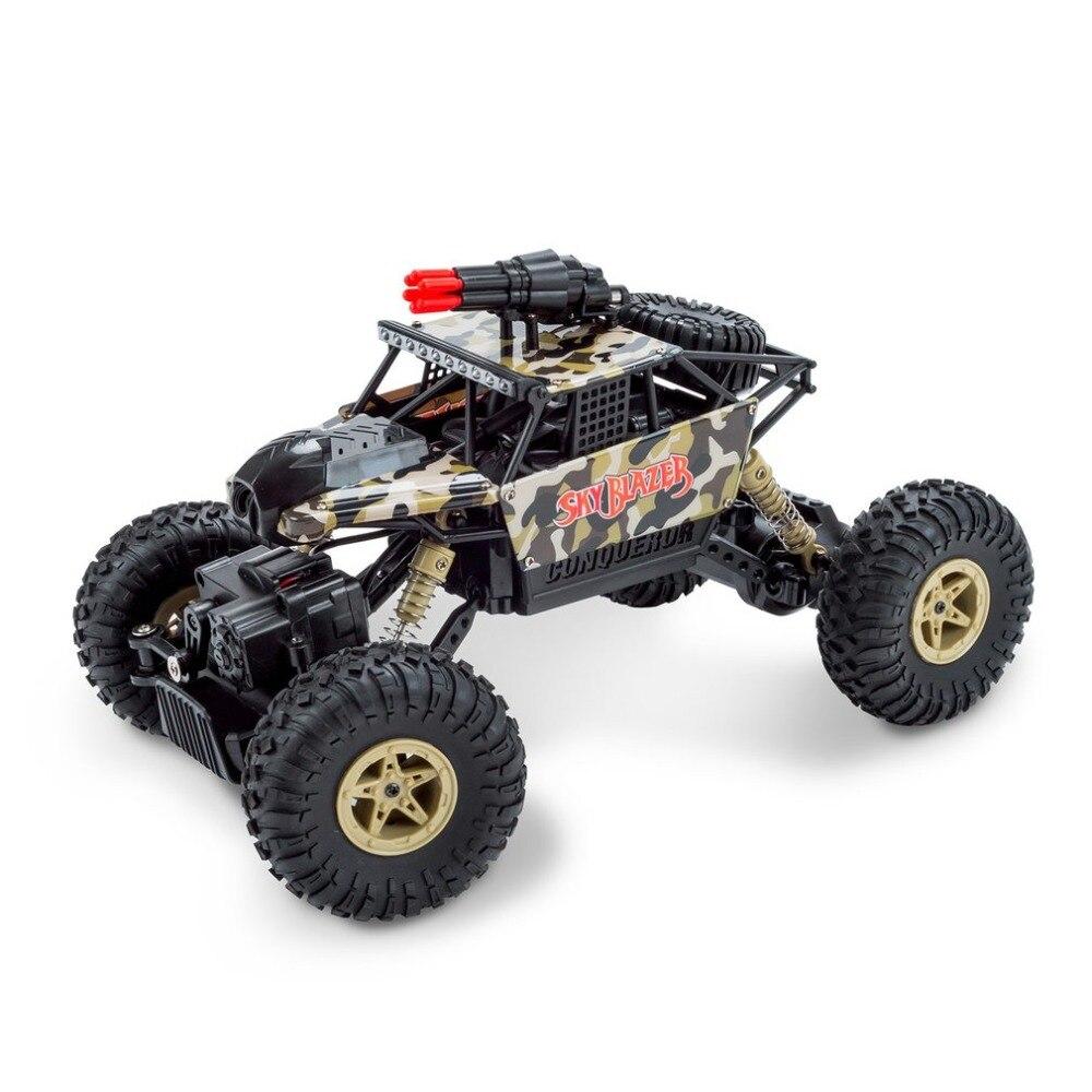 18428-A 1/18 2.4 GHz 4WD RC voiture de Missile avec 0.3MP Wifi FPV caméra hors route chenille en temps réel pour enfants jouet cadeau Prensent