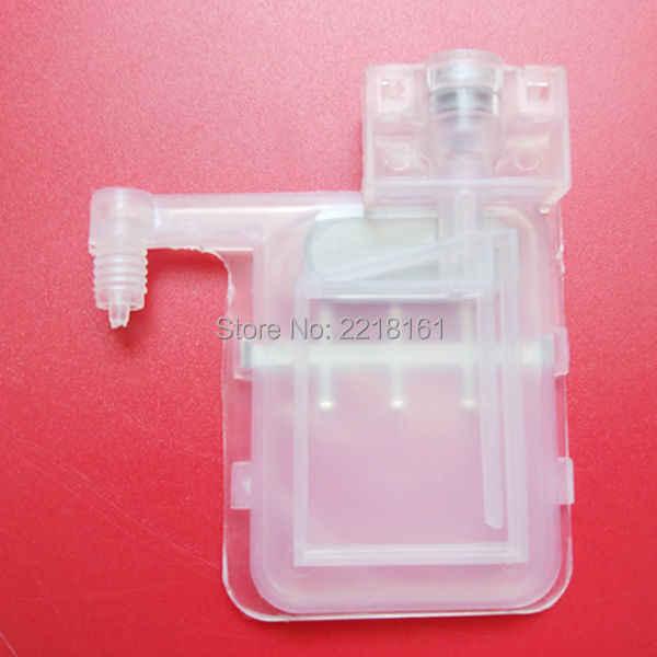 20 pcs transparan klip dengan persegi kepala untuk Epson damper tunggal DX4/DX5 Kepala dumper kompatibel dengan eco-solvent dan Air tinta