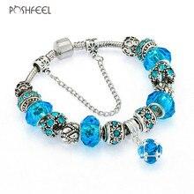 Silver Butterfly Charm Bracelets