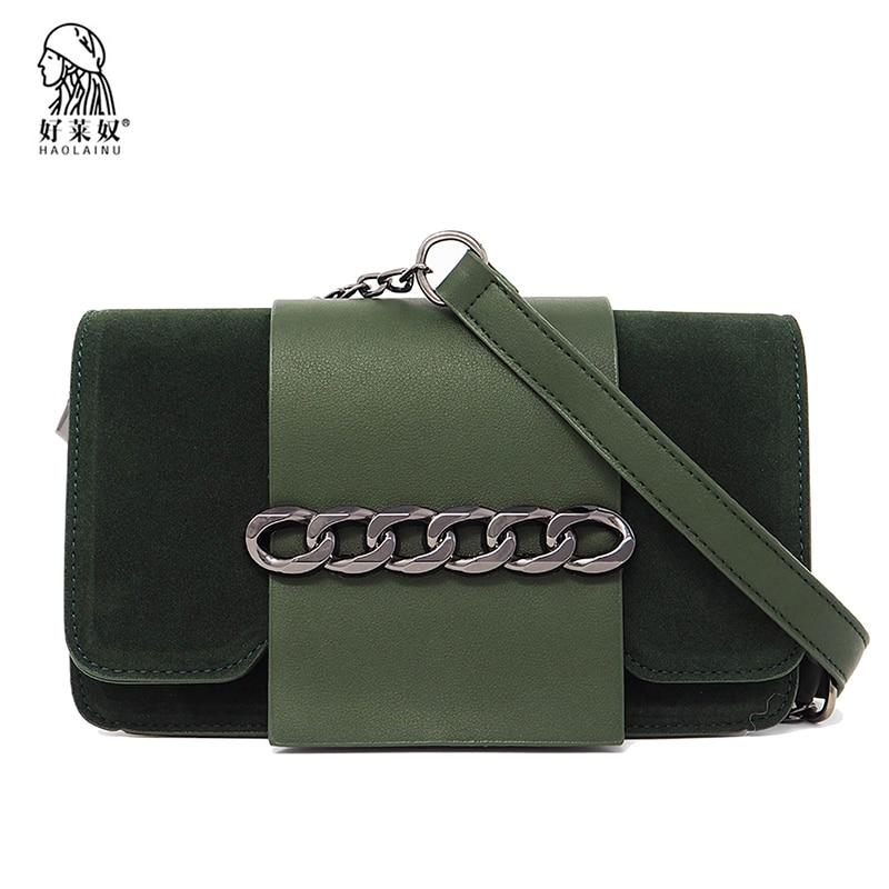 Fashion Women Messenger Bag Ladies High Quality Leather Flap Bag Chain Strap Female Shoulder Bag Ladys Crossbody Bag 2018 New